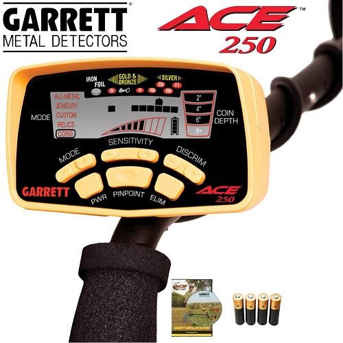le détecteur de métaux ace250 et les detecteur le plus vendu au monde