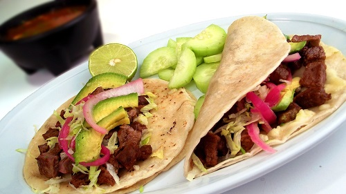 Cuisine plat tacos Mexique