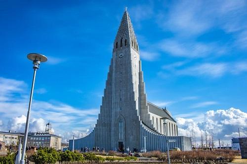 Eglise Hallgrimskirkja Reykjavík Islande