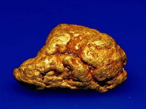 pépite d'or trouvé en France avec un detecteur minelab equinox