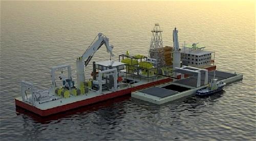techniques d'extraction d'or et de minéraux et métaux rarex en plein océan