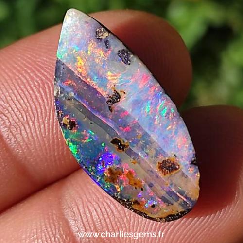 opale boulder trouvé en Australie