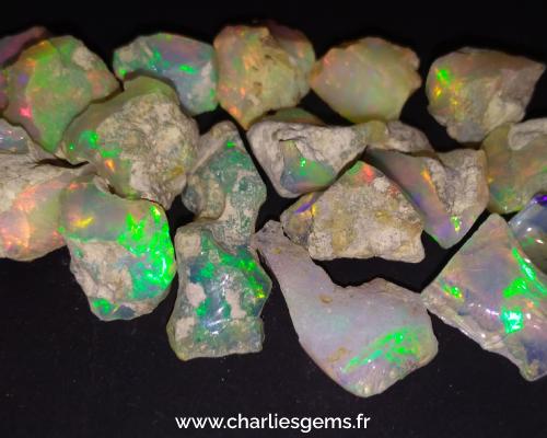 opale welo trouvé en Ethiopie