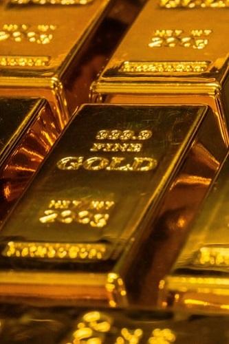 lingot d'or issu de l'exploitation aurifère sous marin