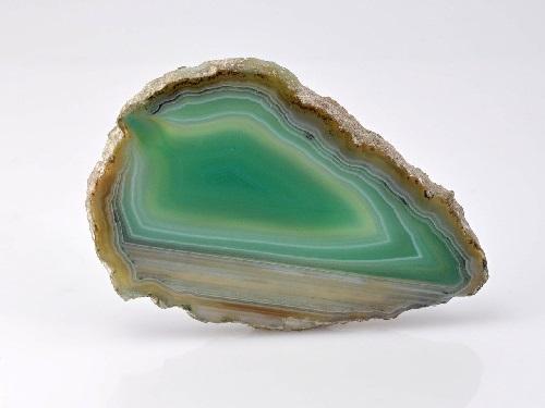 pierre d'agate tranche