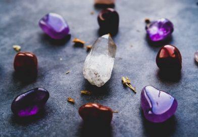 ensembles de pierres et minéraux pour la lithotherapie