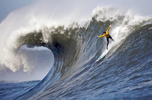 sport extrème surf grosses vague