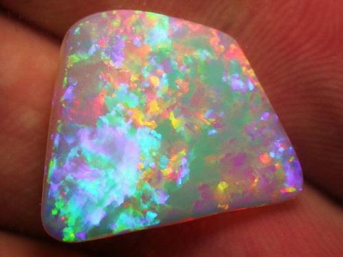l'opale cristal est assez commune en Australie